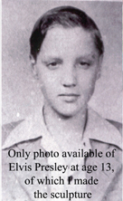 class pix of elvis at 11